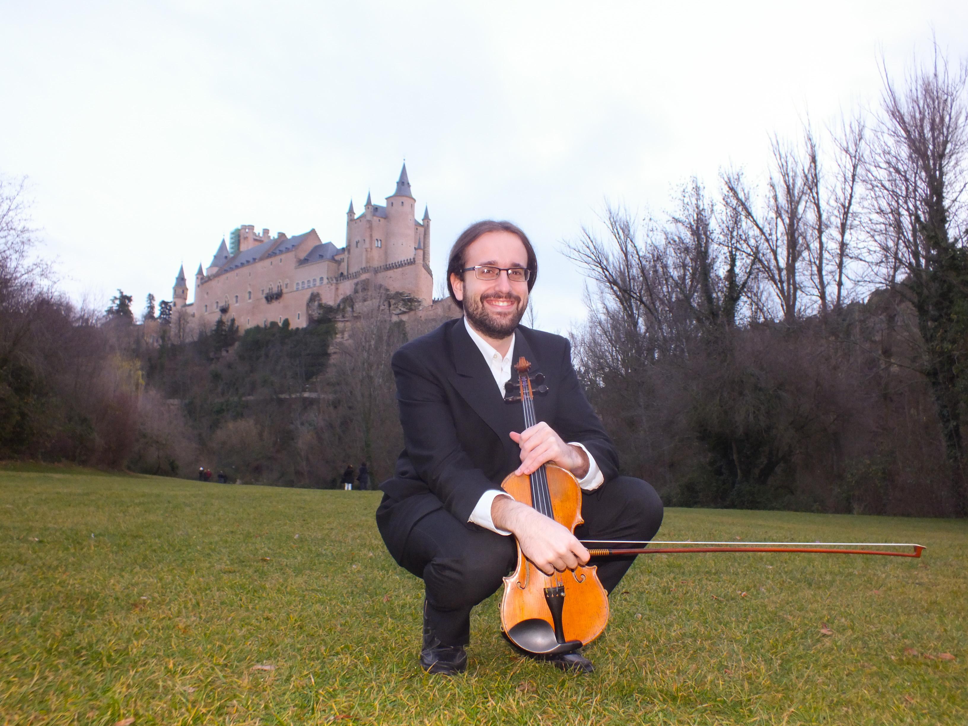Música Tempus- Ismael López, violinista